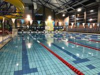 Felixstowe Leisure Centre set up for a gala